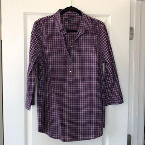 Lands End Women's 3/4 Sleeve Blouse